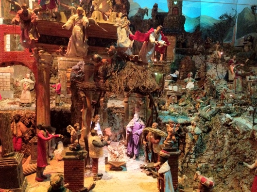 The Nativity scenes (Presepe) became a form of art and a very important part of the Neapolitan tradition in the 19th century.  This part of the Museum of dedicates an entire section to The Presepe.