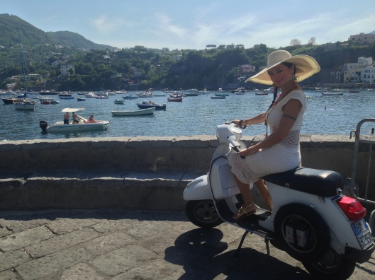 One of the greatest trips with breathtaking views are around the Amalfi Coast, most of these trips can be done  a weekend, again the Vespa is one of the best transportations when it comes to getting around those narrowed roads