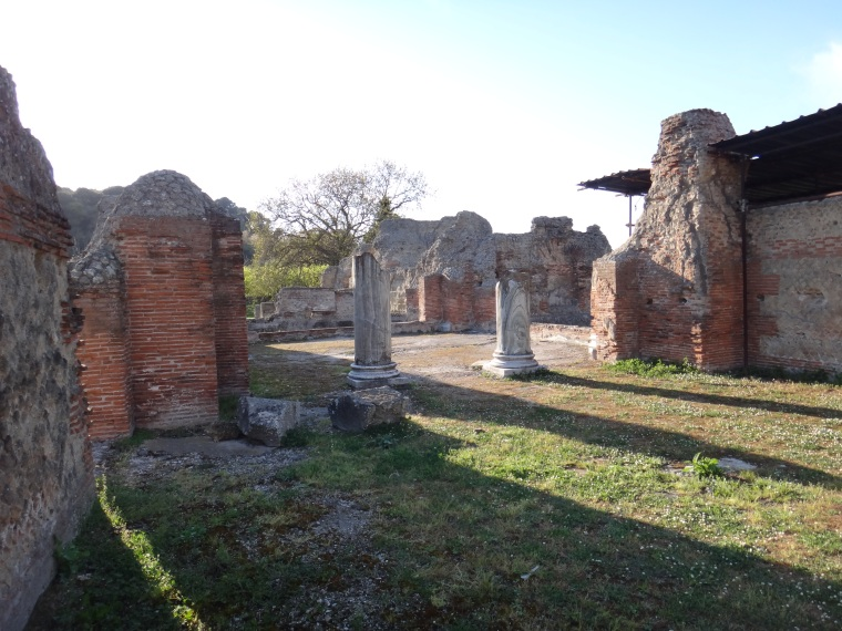 Cumae Archeological Park.  Cumae was a powerful port for centuries and resisted the Etruscan but succumbed to the Romans in the 3rd century BC becoming a Roman colony.