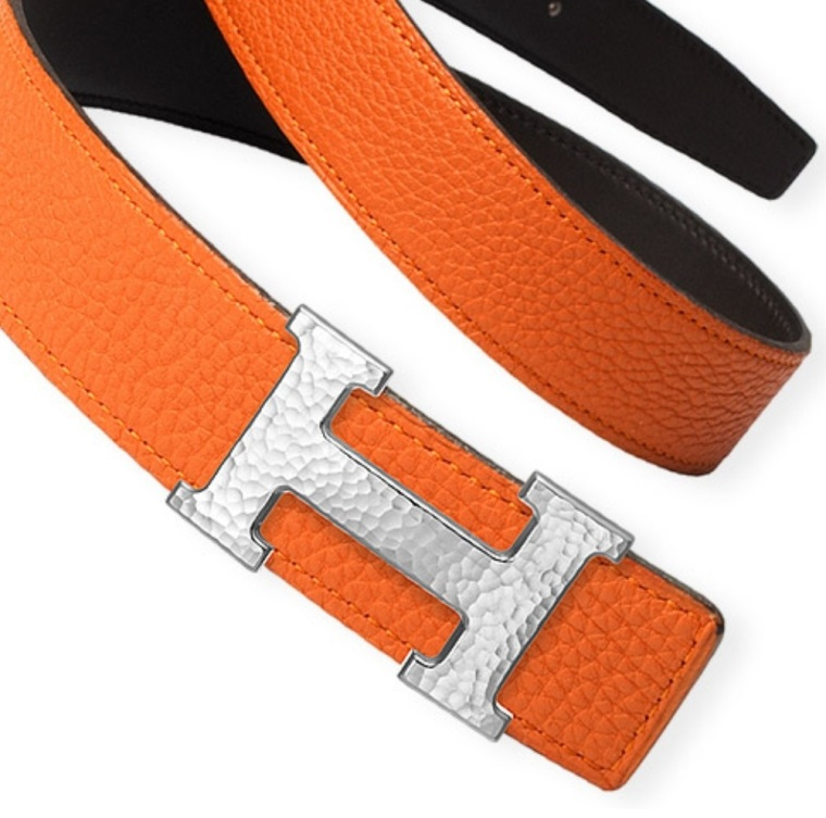 The iconic Hermes belt