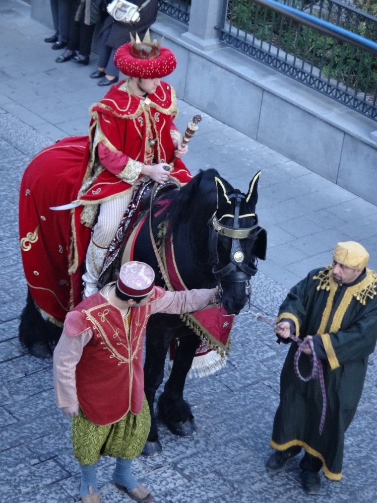 The procession during the Festivities of the Three Kings at Vico Equense