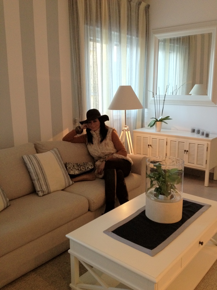 The warm setting of Cubo Boutique Hotel in Vico Equense