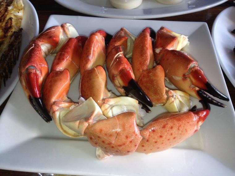 Garcia's fresh stone crab
