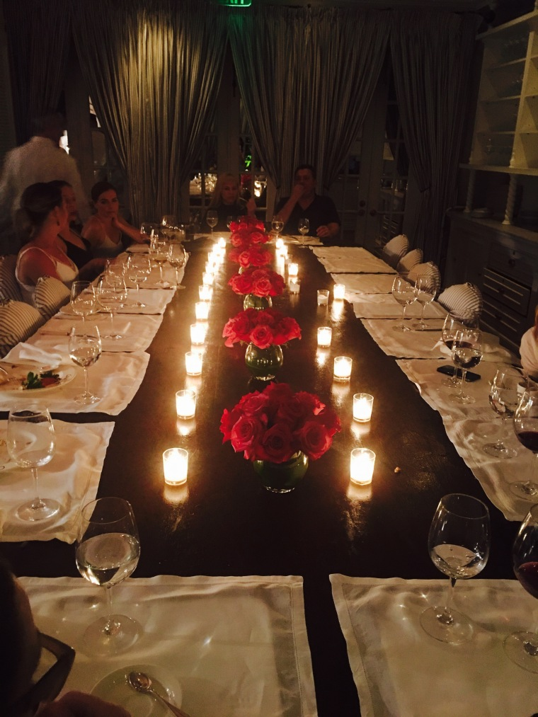 Casa Tua private dining room