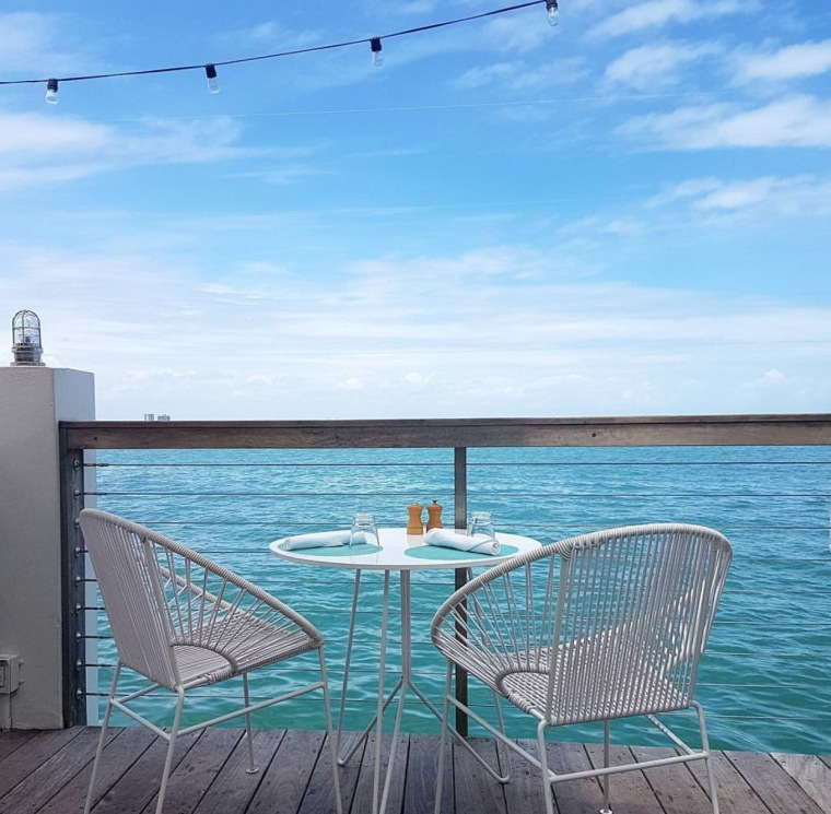 Dining with a view at Thei Lido The Standard