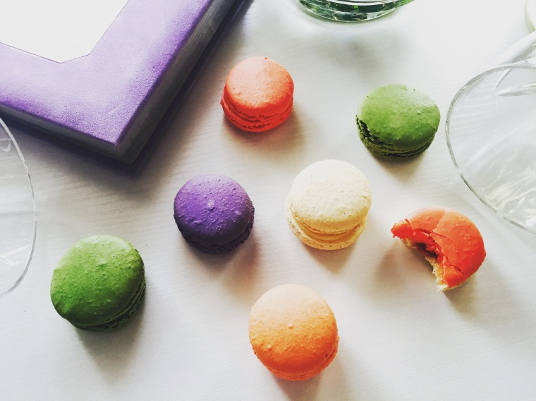 Macaroons anyone? Photo by Montserrat Franco